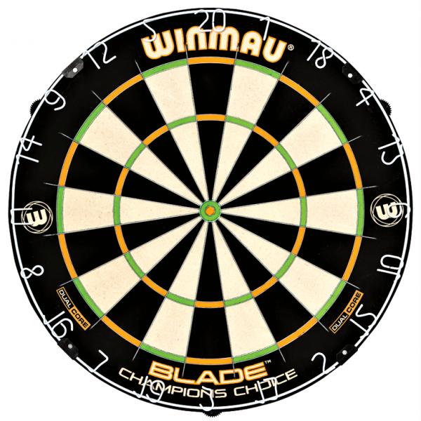Winmau Champions Choice Dartboard Steeldart
